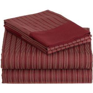 Hamptons 300 Thread Count Printed Stripe Sheet Set