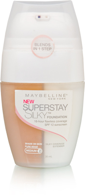 3 Maybelline SuperStay Silky Foundation Pure Beige
