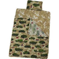 Army Trucks Toddler Boys Sleeping Bag *NEW*