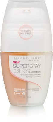 Maybelline Superstay Silky Foundation Creamy Natural