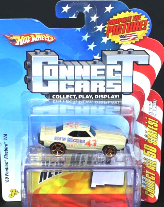 Hot Wheels Connect Cars NEW Mexico '69 Pontiac Firebird