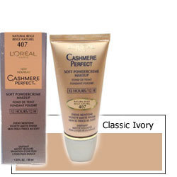 Loreal Cashmere Perfect Makeup Classic Ivory 402