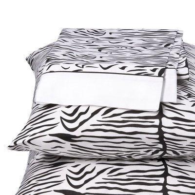 Regal 300 Thread-Count Zebra Print Sheet Set