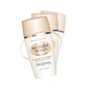 3 Maybelline Wonder Finish Foundation Honey Beige