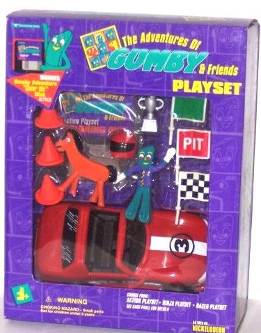 The Adventures of Gumby and Friends - Racer Playset