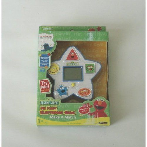 Sesame Street My First Electronic Learning Games Match