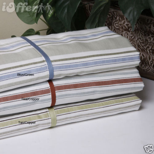 Lindsey Collection 300 Thread Count Cotton Sheet Set