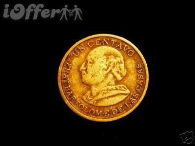 Republica de Guatemala Un 1 Centavo 1976
