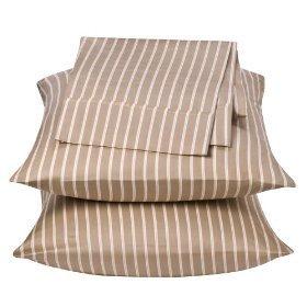 Harvard Stripe 300 Thread Count 100% Cotton Pillow Case