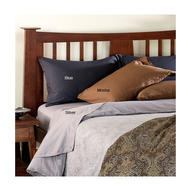 Wesbury 400 Thread Count Cotton Sateen Pillow Case Set