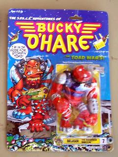 Bucky O'Hare 'Bruiser' Action Figure *NIC* 1990