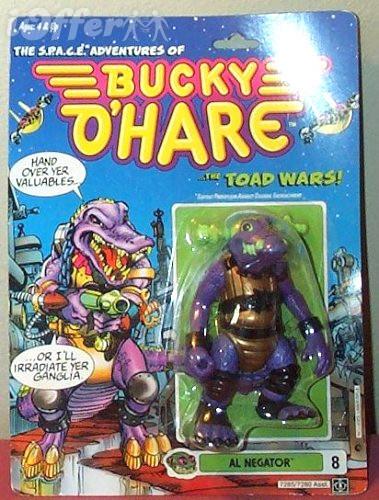 Bucky O'Hare 'Al Negator' Action Figure *NIC* 1990